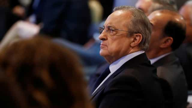 """Florentino Pérez: """"Pedi à NBA que nos inclua na conferência este"""""""