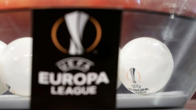 Benfica defronta Dínamo Zagreb nos 'oitavos' da Liga Europa