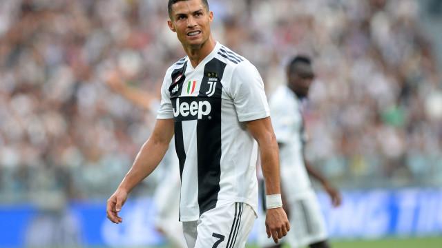 Desta vez, os números de Cristiano Ronaldo são notícia... pela negativa
