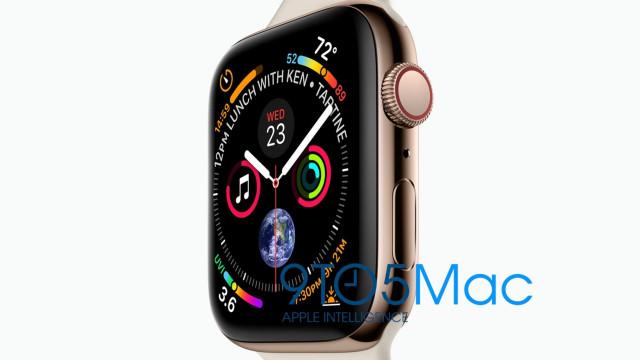 Imagem revela a quarta geração do Apple Watch