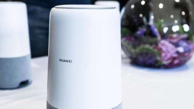 Huawei anuncia coluna caseira para rivalizar com a Google e a Apple