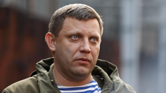 Líder separatista ucraniano morto em explosão em café