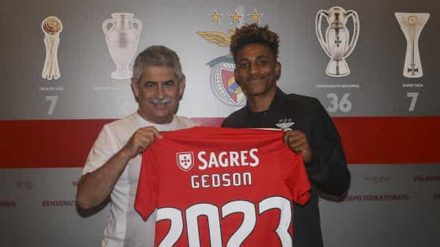 Oficial: Benfica blinda Gedson com contrato até 2023