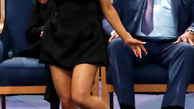 Eis o vídeo da atuação de Ariana Grande no funeral de Aretha Franklin