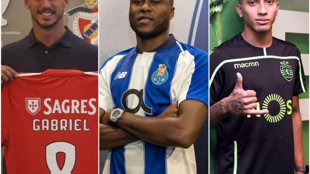 Números e contas: Como foi o mercado para Benfica, FC Porto e Sporting?