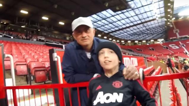 Mourinho mostrou toda a sua classe... com atitude fora do campo