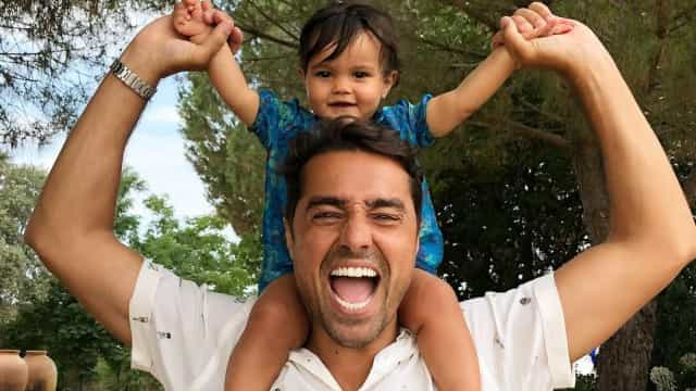 Terceira filha de Ricardo Pereira já tem um ano. Veja como a bebé cresceu