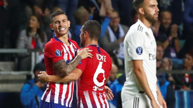 'Bomba'... desarmada: Jogador do Atlético deu 'nega' ao Real Madrid