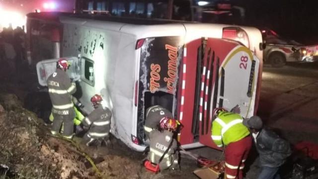 Acidente de autocarro no Equador faz pelo menos 11 mortos e 37 feridos