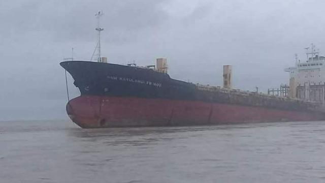 Desvendado o mistério do navio fantasma em Myanmar