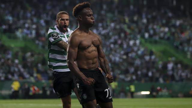 Jovane Cabral renova pelo Sporting até 2023