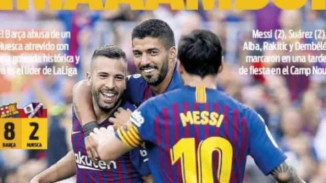 Lá fora: Mourinho respira de alívio e Barcelona dança... o mambo