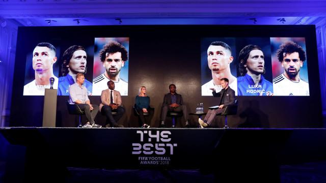 The Best: Cristiano Ronaldo candidato e Messi 'riscado'