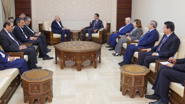 Chefe da diplomacia iraniana reúne-se com homólogo sírio