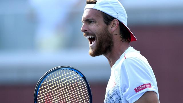 Terminou o sonho português. Djokovic elimina João Sousa do US Open