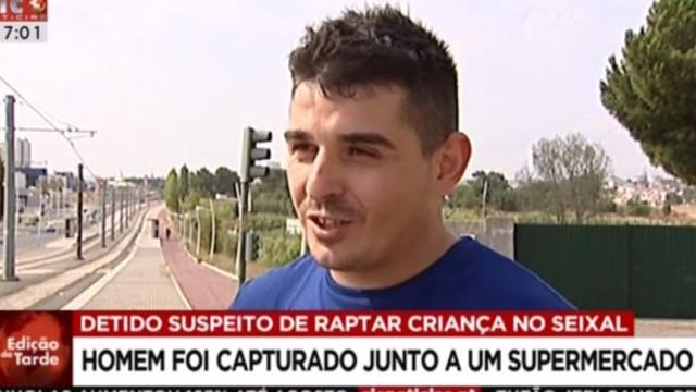Vítor, o herói que denunciou o raptor e violador do Seixal