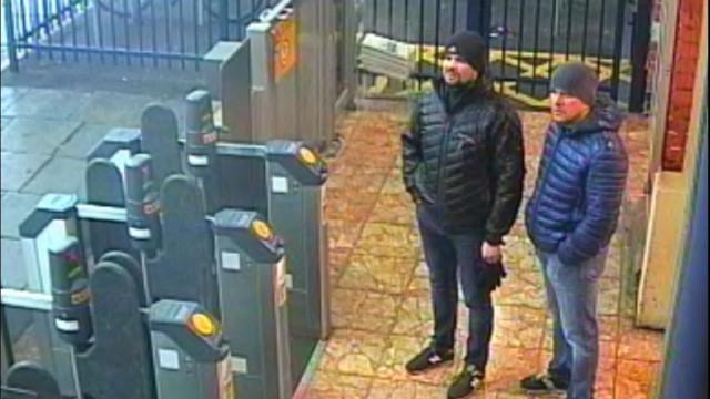 Segundo suspeito do caso Skripal foi condecorado por Putin