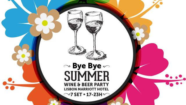 É já esta sexta-feira! Bye Bye Summer Wine & Beer Party