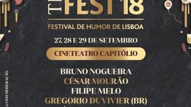 Humor com elenco de luxo protagonizará o 'The Famous Fest' no Capitólio