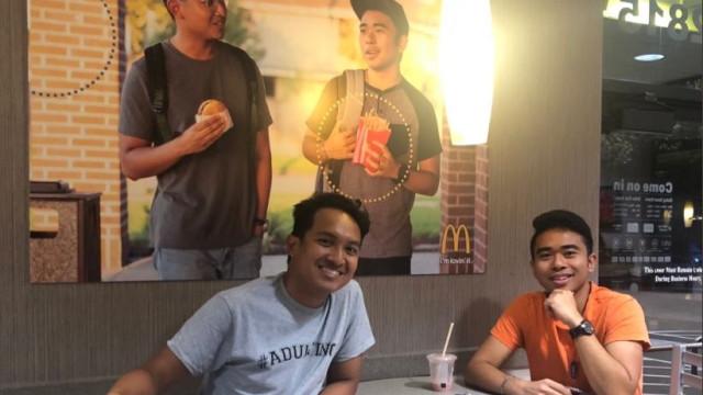 Afixaram cartaz falso em McDonald's e durante dois meses ninguém percebeu
