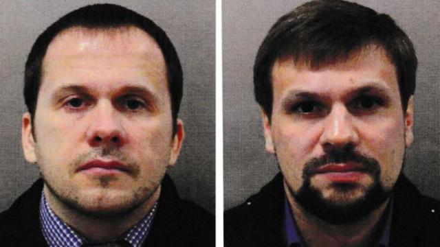 Identificados suspeitos russos de envenenamento de ex-espião