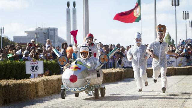 O Parque Eduardo VII vai ser pista para 'A Corrida Mais Louca do Mundo'