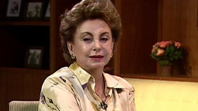 Morreu Beatriz Segall, atriz das novelas 'O Clone' e 'Anjo Mau'