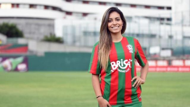 Marítimo anuncia a contratação de Suzane Pires