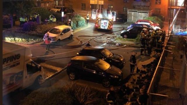 Incêndio em residência em Londres faz uma vítima mortal