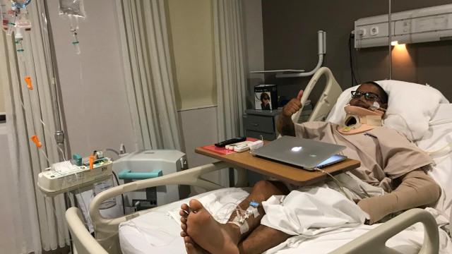 Redes sociais salvaram homem que sofreu acidente durante ida à Indonésia