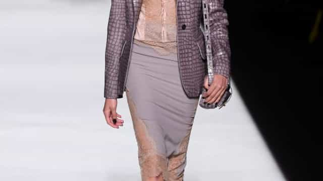 Maria Miguel é a primeira modelo lusa a desfilar para Tom Ford