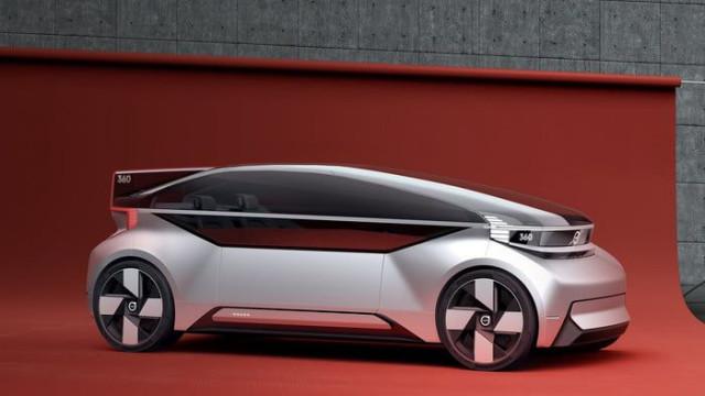 O inovador 'concept car' autónomo da Volvo quer competir com aviões