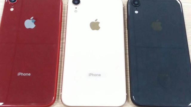 Um dos novos iPhones terá direito a três cores. Veja as imagens
