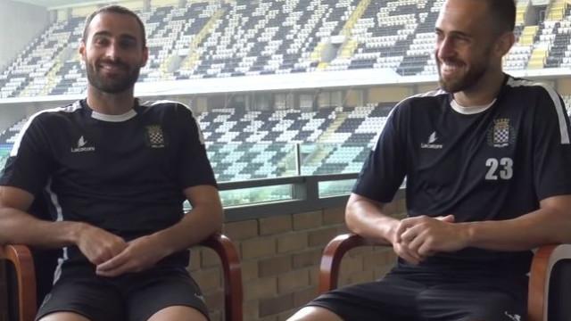 Dupla de Rafa's protagoniza entrevista hilariante no Boavista
