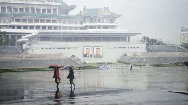 Inundações na Coreia do Norte provocam pelo menos 76 mortos