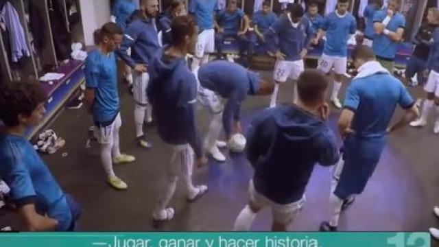 Reveladas as palavras de Ronaldo no balneário antes da final da Champions