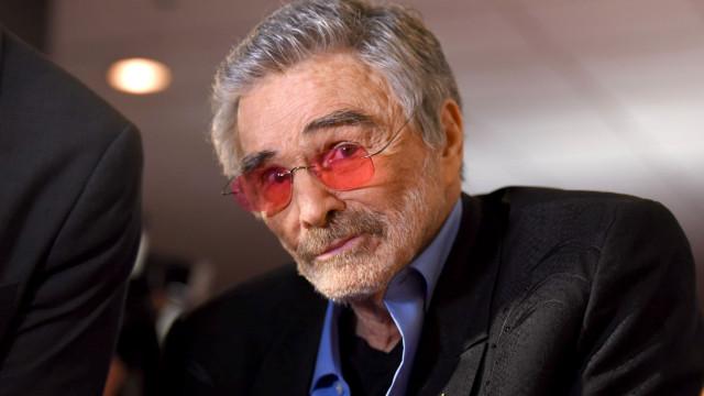 Burt Reynolds não incluiu filho no testamento