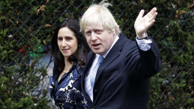 Boris Johnson divorcia-se após acusação de infidelidade