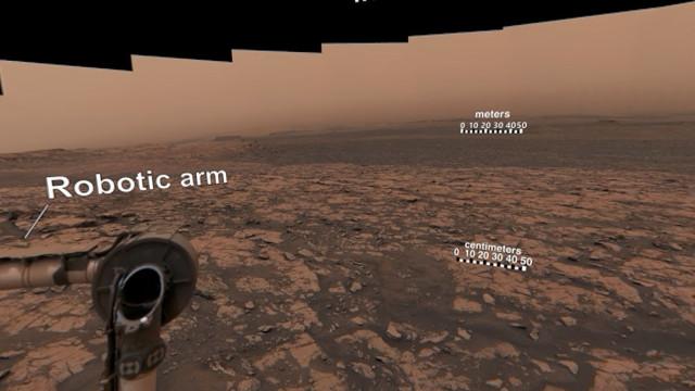 NASA partilha fotografia de 360 graus da superfície de Marte