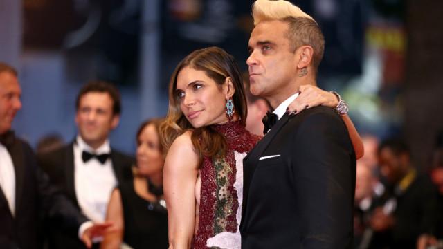 Robbie Williams foi pai pela 3ª vez através de uma barriga de aluguer