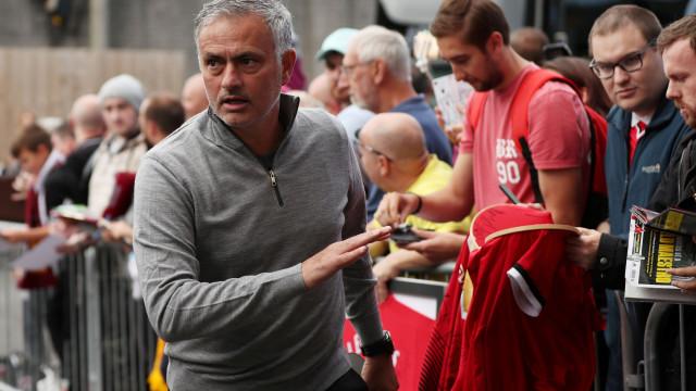 """A resistência anónima no United contra o """"anormal"""" Mourinho"""