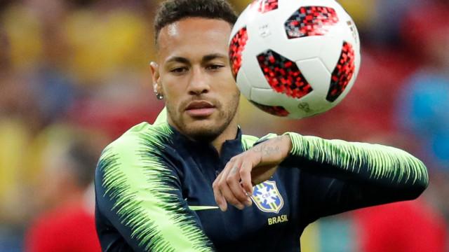 Neymar foi nomeado capitão da seleção brasileira e já reagiu
