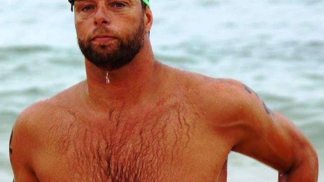 Nadador olímpico faz travessia solidária entre o Corvo e as Flores