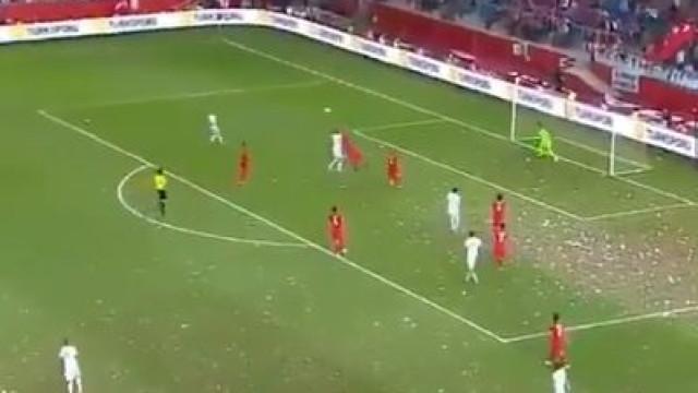 Cheryshev ainda não esqueceu o Mundial e voltou a mostrar 'pé quente'