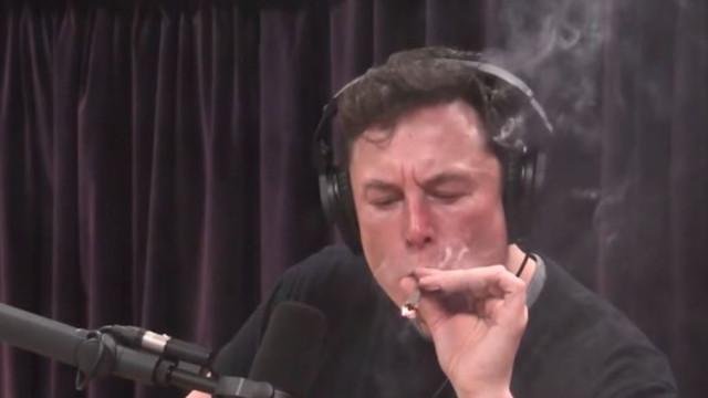 Elon Musk bebe uísque e fuma marijuana durante entrevista