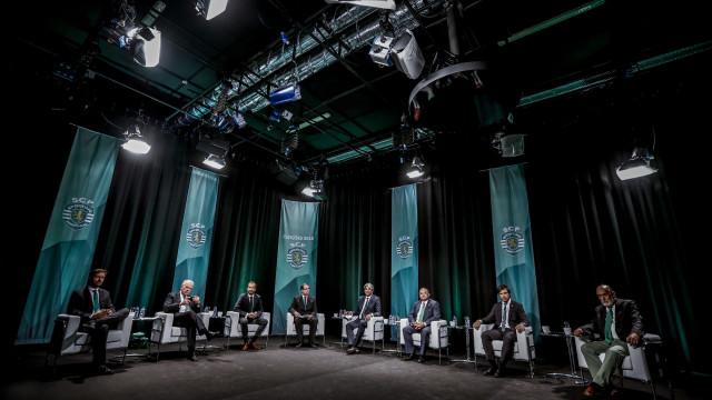 As alegações finais dos seis candidatos à presidência do Sporting