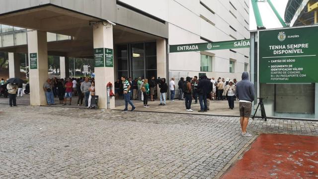Eleições ao Minuto: Abrem as urnas em Alvalade