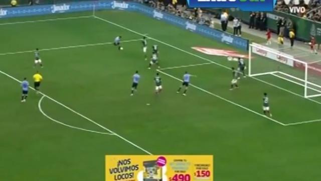 Assistência 'do outro mundo' de Luis Suárez deu golo ao Uruguai