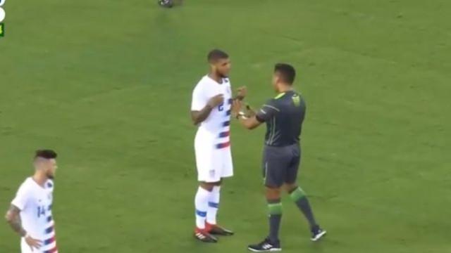 """Viu o Mundial?"": A curiosa pergunta de Yedlin após derrubar Neymar"