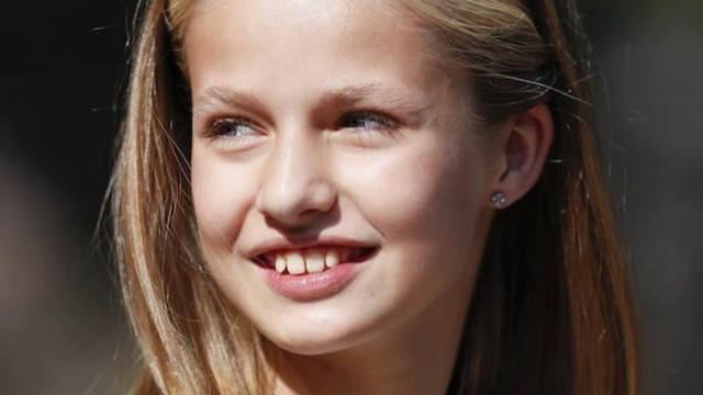 Princesa Leonor encanta em dia histórico para a realeza espanhola